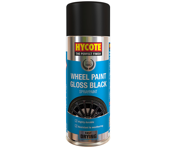 WHEEL PAINT GLOSS BLACK